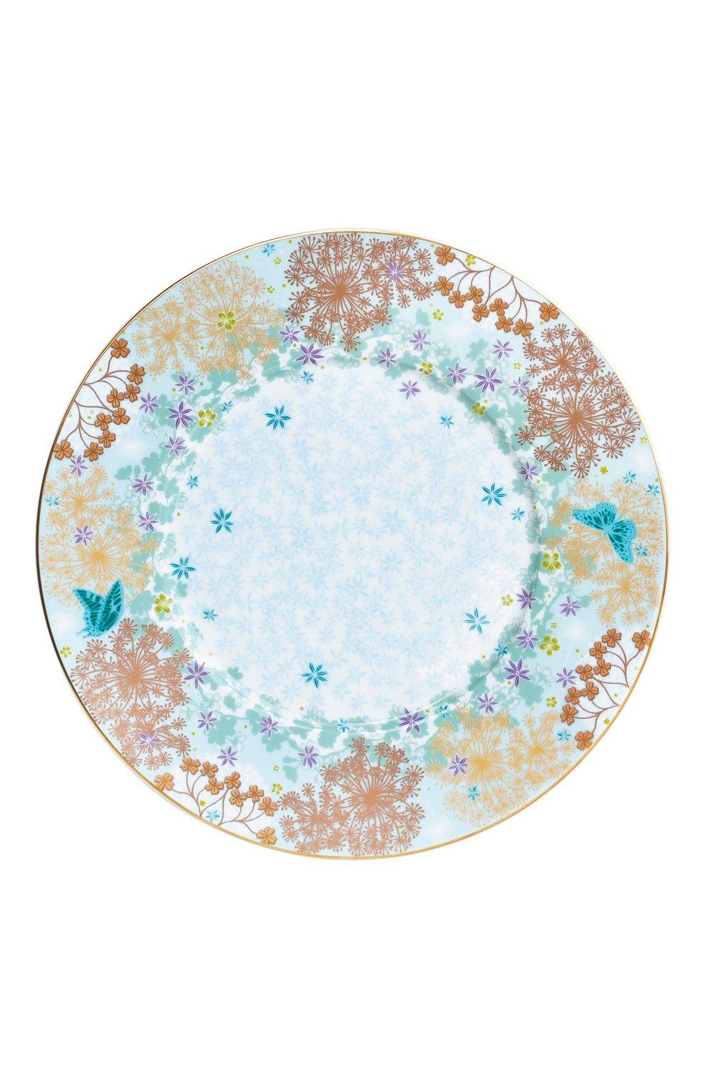 Мужского салатная тарелка feerie  BERNARDAUD разноцветного цвета, арт. 1860/17   Фото 1