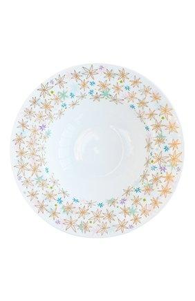 Мужского суповая тарелка feerie  BERNARDAUD разноцветного цвета, арт. 1860/21896   Фото 1