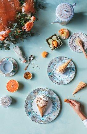 Мужского суповая тарелка feerie  BERNARDAUD разноцветного цвета, арт. 1860/21896   Фото 2