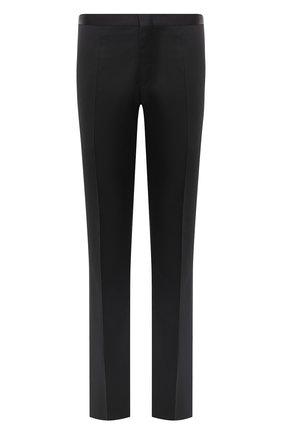Мужской шерстяные брюки ZILLI черного цвета, арт. M0U-B0ST0-60290/0001 | Фото 1