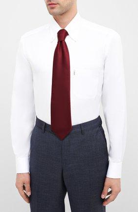Мужская хлопковая сорочка ZILLI белого цвета, арт. MFU-10715-0299/0010 | Фото 4