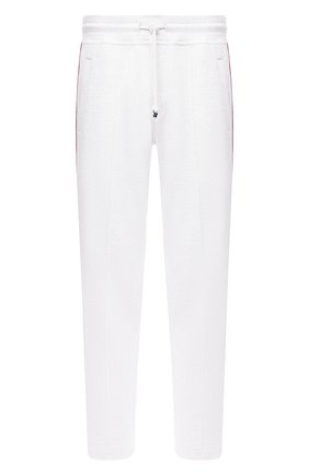 Мужской хлопковые брюки BRUNELLO CUCINELLI светло-серого цвета, арт. M0T353303G | Фото 1