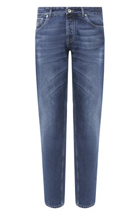 Мужские джинсы BRUNELLO CUCINELLI синего цвета, арт. ME228D2220 | Фото 1