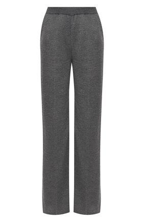Женские брюки из кашемира и шелка LORO PIANA серого цвета, арт. FAL2062 | Фото 1