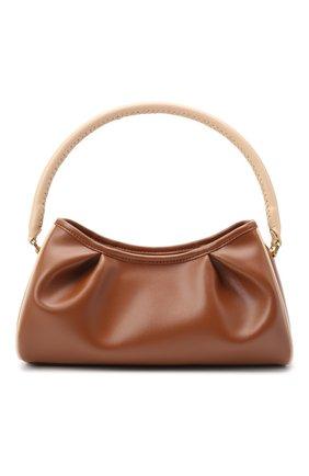 Женская сумка dimple ELLEME коричневого цвета, арт. DIMPLE/LEATHER | Фото 1