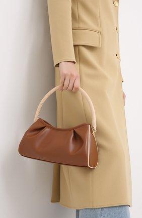 Женская сумка dimple ELLEME коричневого цвета, арт. DIMPLE/LEATHER | Фото 2