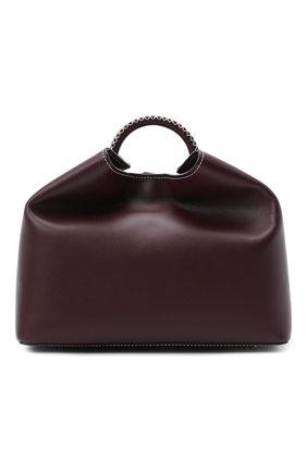 Женская сумка raisin ELLEME бордового цвета, арт. RAISIN/LEATHER | Фото 1
