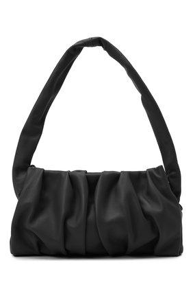 Женская сумка vague ELLEME черного цвета, арт. VAGUE/LAMBSKIN | Фото 1