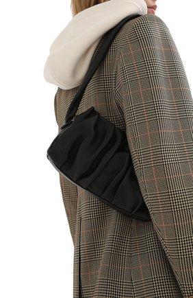 Женская сумка vague ELLEME черного цвета, арт. VAGUE/LAMBSKIN | Фото 2