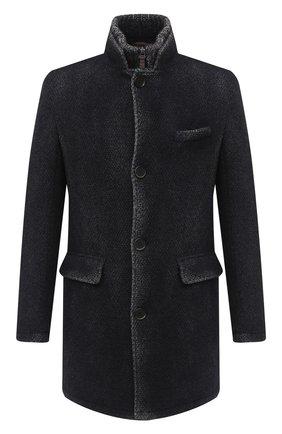 Мужской утепленное пальто GIMO'S темно-синего цвета, арт. 20AI.L.310.TMS | Фото 1