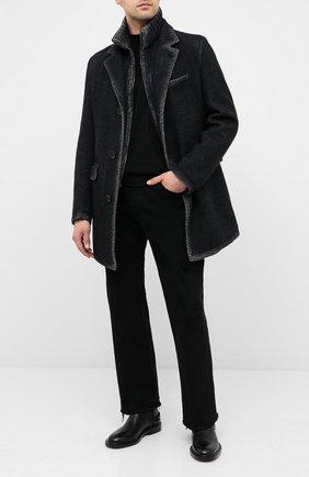 Мужской утепленное пальто GIMO'S темно-синего цвета, арт. 20AI.L.310.TMS | Фото 2