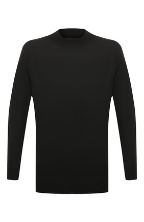Мужской шерстяная водолазка LORO PIANA темно-серого цвета, арт. FAI8084 | Фото 1