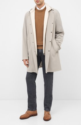 Мужские джинсы LORO PIANA серого цвета, арт. FAI7880 | Фото 2