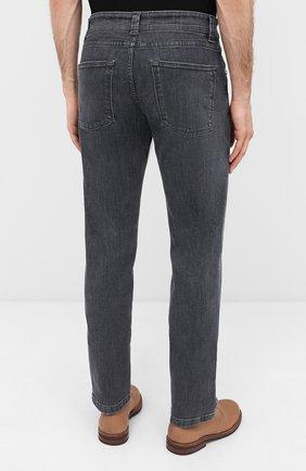 Мужские джинсы LORO PIANA серого цвета, арт. FAI7880 | Фото 4