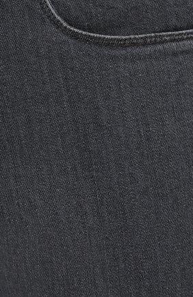 Мужские джинсы LORO PIANA серого цвета, арт. FAI7880 | Фото 5