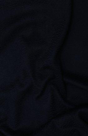 Мужской кашемировый шарф LORO PIANA темно-синего цвета, арт. FAB9149 | Фото 2