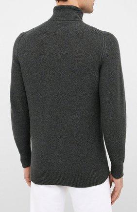 Мужской кашемировый свитер LORO PIANA синего цвета, арт. FAL2788   Фото 4