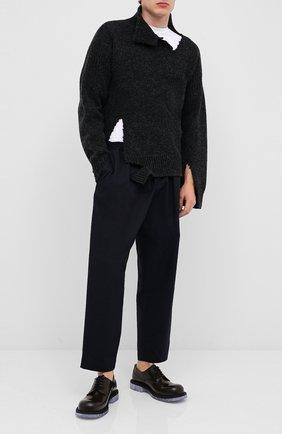 Мужской шерстяной свитер MARNI темно-серого цвета, арт. DVMG0015A0/S17427   Фото 2