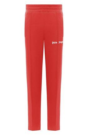 Мужской брюки PALM ANGELS красного цвета, арт. PMCA007E20FAB0012901 | Фото 1