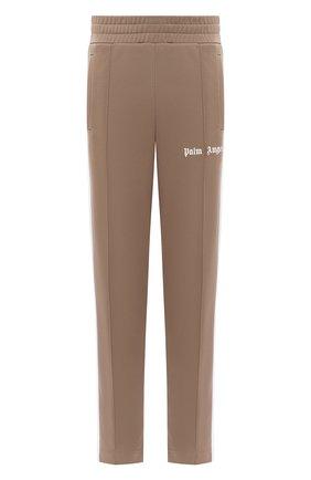 Мужской брюки PALM ANGELS светло-коричневого цвета, арт. PMCA007E20FAB0016401 | Фото 1