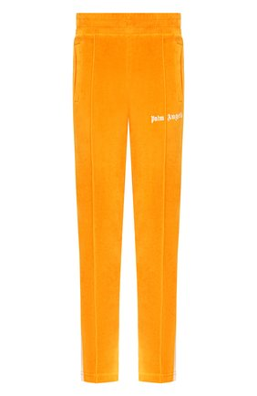 Мужской хлопковые брюки PALM ANGELS желтого цвета, арт. PMCA007E20FAB0032201 | Фото 1