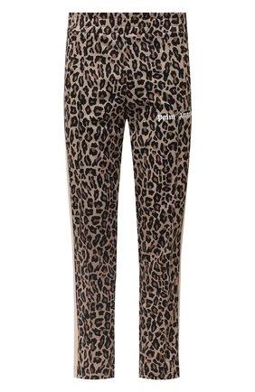 Мужской брюки PALM ANGELS светло-коричневого цвета, арт. PMCA007E20FAB0061801 | Фото 1