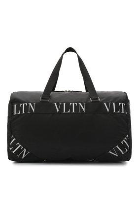 Мужская текстильная дорожная сумка valentino garavani VALENTINO черного цвета, арт. UY2B0732/RPY | Фото 1