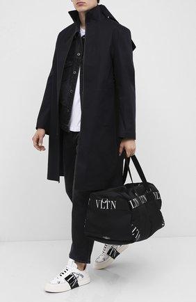 Мужская текстильная дорожная сумка valentino garavani VALENTINO черного цвета, арт. UY2B0732/RPY | Фото 2