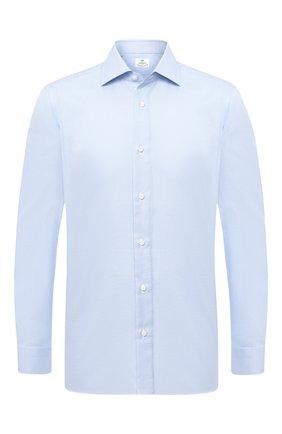 Мужская хлопковая сорочка LUIGI BORRELLI голубого цвета, арт. DR08/LUCIAN0/TS10512 | Фото 1
