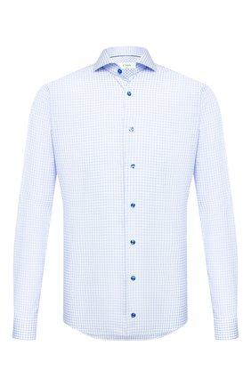 Мужская хлопковая сорочка ETON голубого цвета, арт. 1000 01590 | Фото 1