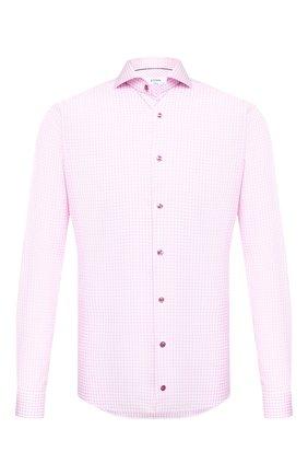 Мужская хлопковая сорочка ETON розового цвета, арт. 1000 01590 | Фото 1