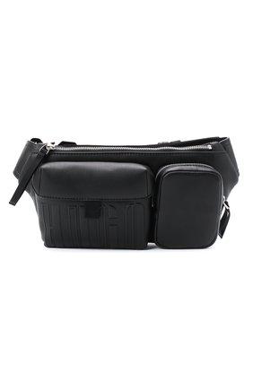 Мужская поясная сумка HUGO черного цвета, арт. 50431620 | Фото 1