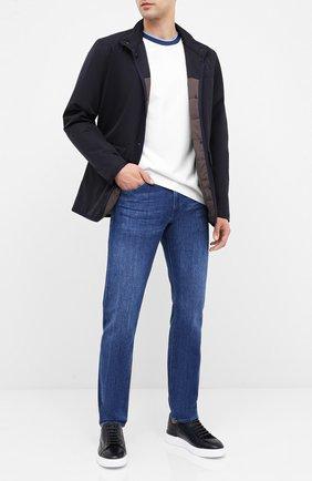 Мужские джинсы BOSS синего цвета, арт. 50432461   Фото 2