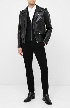 Мужской брюки HUGO черного цвета, арт. 50430488 | Фото 2