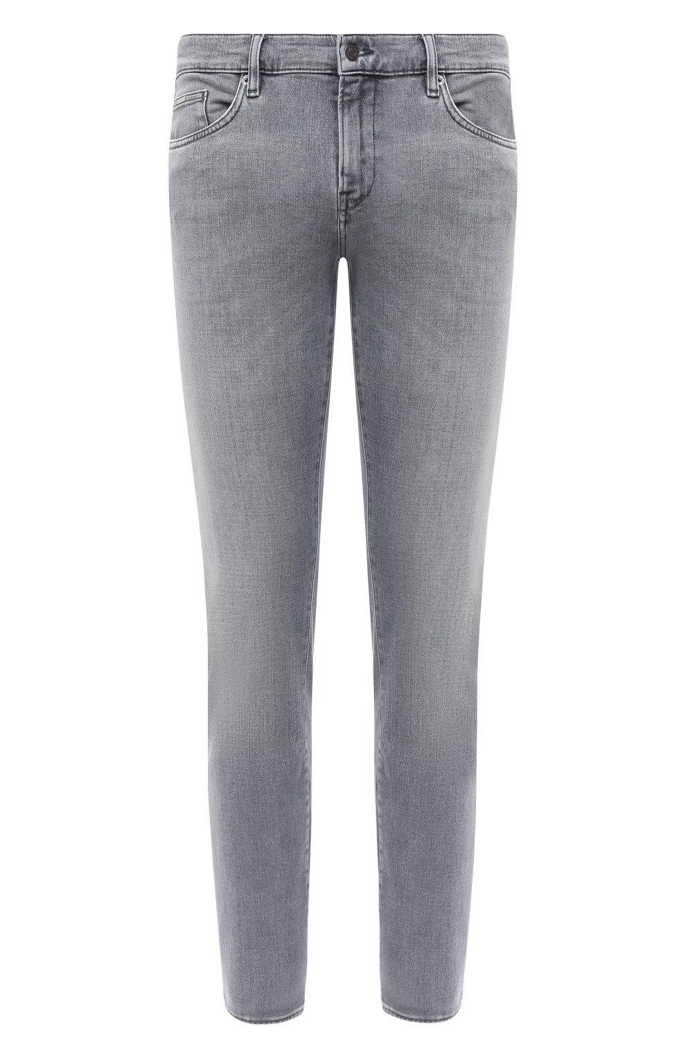 Мужские джинсы BOSS темно-серого цвета, арт. 50432449 | Фото 1