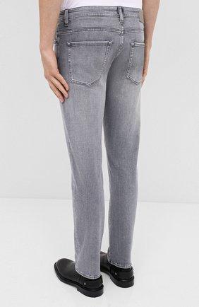Мужские джинсы BOSS темно-серого цвета, арт. 50432449 | Фото 4