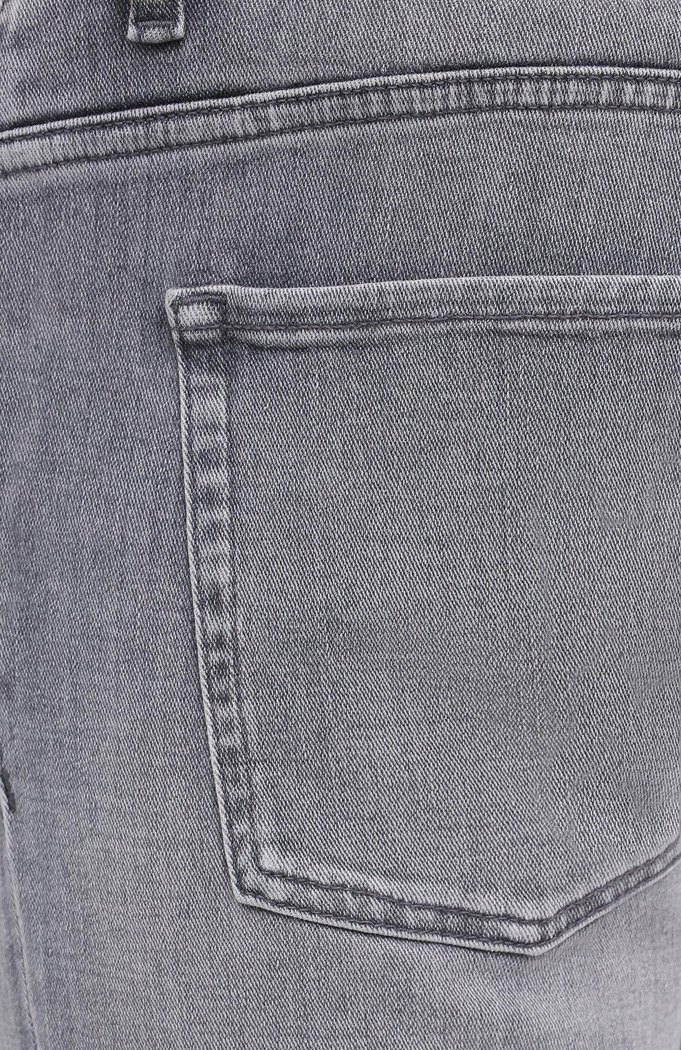 Мужские джинсы BOSS темно-серого цвета, арт. 50432449 | Фото 5