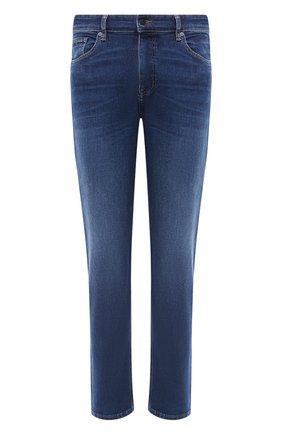 Мужские джинсы BOSS синего цвета, арт. 50433131 | Фото 1