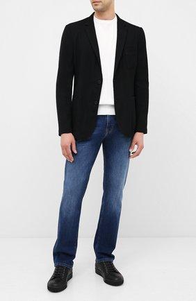 Мужские джинсы BOSS синего цвета, арт. 50433131 | Фото 2