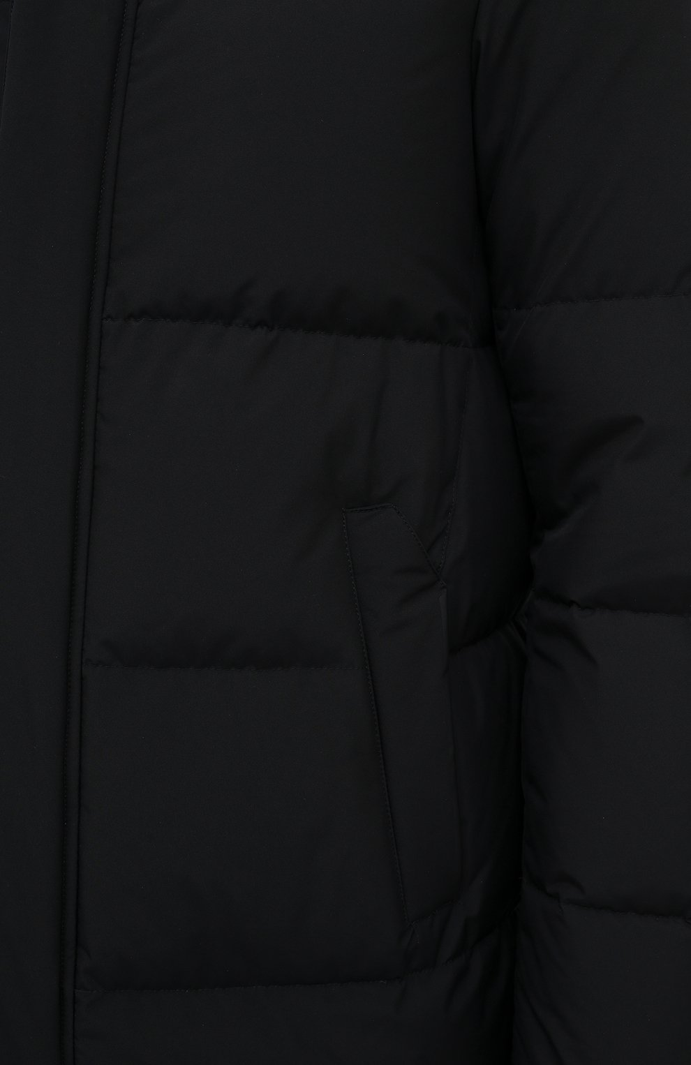 Мужская пуховик HERNO черного цвета, арт. PI147UL/11106 | Фото 5