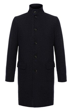 Мужской кашемировое пальто LORO PIANA темно-синего цвета, арт. FAF4702 | Фото 1