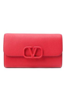 Женский клатч valentino garavani vsling VALENTINO красного цвета, арт. UW2B0H28/RQR | Фото 1