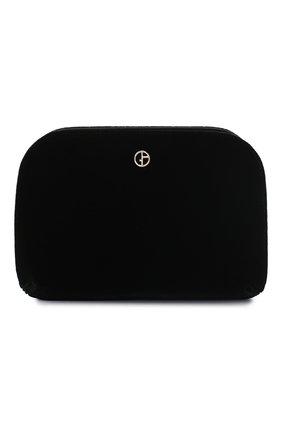 Женский клатч GIORGIO ARMANI черного цвета, арт. Y1C097/YFY0A | Фото 1
