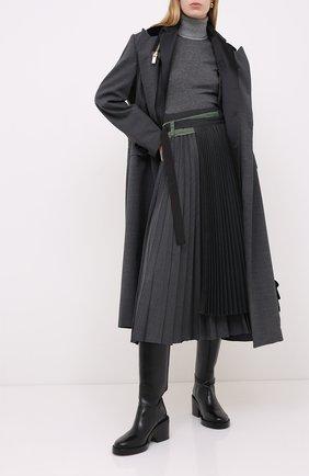 Женская кашемировая водолазка LORO PIANA серого цвета, арт. FAL2054 | Фото 2