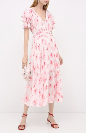Женское платье SELF-PORTRAIT розового цвета, арт. PF20-085P | Фото 2