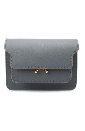 Женская сумка trunk mini MARNI серого цвета, арт. SBMPS01U07/LV520 | Фото 1