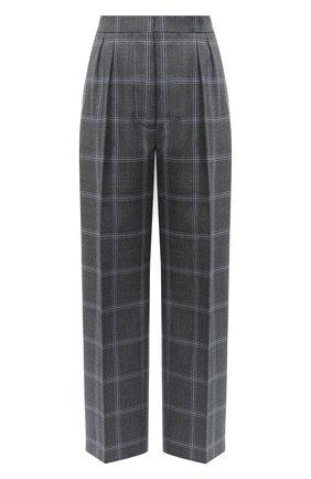 Женские шерстяные брюки MARNI серого цвета, арт. PAMA0192U0/TW893 | Фото 1
