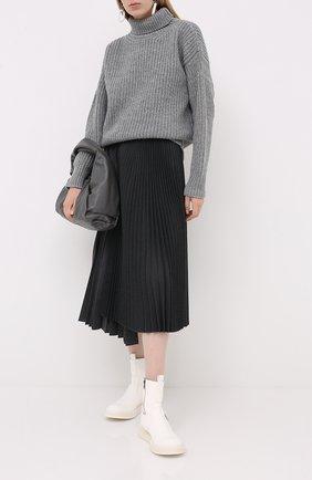 Женская шерстяной свитер MARNI серого цвета, арт. DVMD0097Q0/FH573 | Фото 2