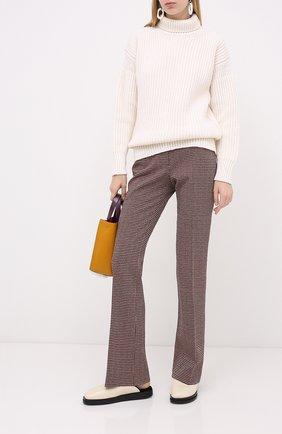 Женская шерстяной свитер MARNI белого цвета, арт. DVMD0097Q0/FH573 | Фото 2