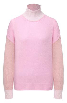 Женская кашемировая водолазка MARNI розового цвета, арт. DVMD0092Q0/FX385 | Фото 1